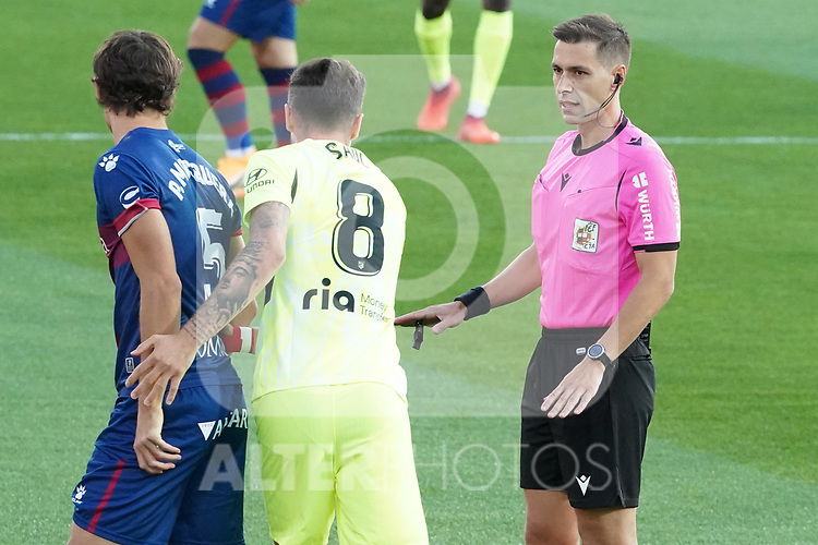 Spanish referee Adrian Cordero Vega during La Liga match. September 30,2020. (ALTERPHOTOS/Acero)