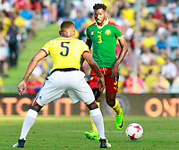 Colombia's Wilmar Barrios (l) and Cameroon's Andre-Frank Zambo Anguissa during international friendly match. June 13,2017.(ALTERPHOTOS/Acero) (NortePhoto.com) (NortePhoto.com)