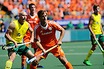 The Hague, Netherlands, June 15: Jeroen Hertzberger #11 of The Netherlands looks on during the field hockey gold match (Men) between Australia and The Netherlands on June 15, 2014 during the World Cup 2014 at Kyocera Stadium in The Hague, Netherlands. Final score 6-1 (2-1)  (Photo by Dirk Markgraf / www.265-images.com) *** Local caption ***