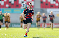 Monday 27th February 2017   ULSTER SCHOOLS CUP SEMI-FINAL<br /> <br /> Michael Stronge during the Ulster Schools Cup Semi-Final between RBAI and Ballymena Academy  at Kingspan Stadium, Ravenhill Park, Belfast, Northern Ireland. <br /> <br /> Photograph by John Dickson   www.dicksondigital.com