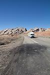 Utah, accident scene, Interstate-70, San Rafael Swell, March, USA,