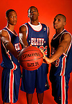 Anthony Randolph (4), DeAndre Jordan (32) and Gary Johnson (23) on August 31, 2006 in New York, New York.  Randolph currently attends Woodrow Wilson High School and will play for LSU in the fall of 2007.  Jordan attends Christian Life Academy and will play for Texas A&M in the fall of 2007.  Johnson attends Adline High School and will play for Texas in the fall of 2007.  The players were in town for the Elite 24 Hoops Classic, which brought together the top 24 high school basketball players in the country regardless of class or sneaker affiliation.