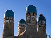 Torhaus Chor Minor in Buchara, Usbekistan, Asien, UNESCO-Weltkulturerbe<br /> Gate House Chor Minor, Historic City of Bukhara, Uzbekistan, Asia, UNESCO Heritage Site
