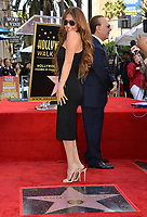 LOS ANGELES, CA. October 10, 2019: Thalia Mottola at the Hollywood Walk of Fame Star Ceremony honoring Tommy Mottola.<br /> Pictures: Paul Smith/Featureflash