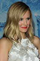 """HOLLYWOOD, CA - NOVEMBER 19: Kristen Bell at the World Premiere Of Walt Disney Animation Studios' """"Frozen"""" held at the El Capitan Theatre on November 19, 2013 in Hollywood, California. (Photo by David Acosta/Celebrity Monitor)"""