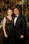 """Carrie Zendeh Del and her husband Jonathan at the San Luis Salute """"Hollywood Dinner Club"""" in Galveston Friday Feb. 09,2018. (Dave Rossman Photo)"""