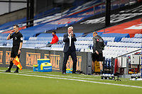 5th September 2020; Selhurst Park, London, England; Pre Season Friendly Football, Crystal Palace versus Brondby; Crystal Palace Manager Roy Hodgson applauds his players performance during the 1st half from the touchline