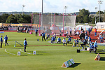 IPC European Athletics Championship 2014<br /> General view of the field events with volunteers and officials<br /> Swansea University<br /> 23.08.14<br /> ©Steve Pope-SPORTINGWALES