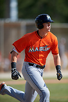 Miami Marlins Sean Reynolds (47) during a Minor League Spring Training Intrasquad game on March 27, 2018 at the Roger Dean Stadium Complex in Jupiter, Florida.  (Mike Janes/Four Seam Images)