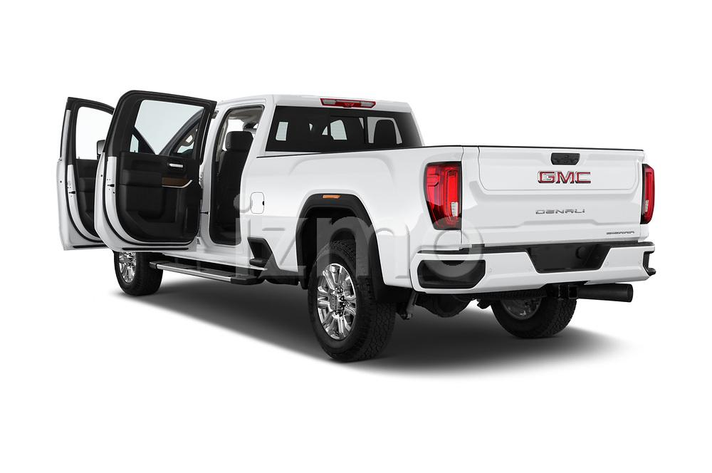 Car images of 2020 GMC Sierra-3500HD Denali 4 Door Pick-up Doors