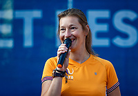 Hilversum, Netherlands, Juli 29, 2019, Tulip Tennis center, National Junior Tennis Championships 12 and 14 years, NJK, Opening: Marjolein Notten <br /> Photo: Tennisimages/Henk Koster