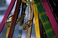 Europe/Allemagne/Forêt Noire/Hinterzarten : Skis au musée du ski