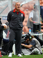 USA coach Kazbek Tambi..FIFA U17 Women's World Cup, Paraguay v USA, Waikato Stadium, Hamilton, New Zealand, Sunday 2 November 2008. Photo: Renee McKay/PHOTOSPORT