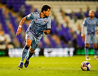 20th November 2020; St Andrews Stadium, Coventry, West Midlands, England; English Football League Championship Football, Coventry City v Birmingham City; Gustavo Hamer of Coventry City brings the ball out of defence