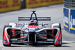 Felix Rosenqvist of Sweden from Mahindra Racing competes in the Formula E Qualifying Session 1 during the FIA Formula E Hong Kong E-Prix Round 1  at the Central Harbourfront Circuit on 02 December 2017 in Hong Kong, Hong Kong. Photo by Marcio Rodrigo Machado / Power Sport Images