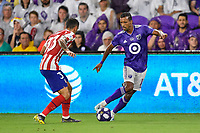 Orlando, FL - Wednesday July 31, 2019:  Nani #17 during an Major League Soccer (MLS) All-Star match between the MLS All-Stars and Atletico Madrid at Exploria Stadium.