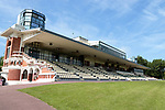 August 15, 2021, Deauville (France) -  The Grandstand of the Deauville Racecourse. [Copyright (c) Sandra Scherning/Eclipse Sportswire)]