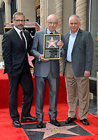LOS ANGELES, CA. June 07, 2019: Steve Carrell, Alan Arkin & Matthew Arkin at the Hollywood Walk of Fame Star Ceremony honoring Alan Arkin.<br /> Pictures: Paul Smith/Featureflash