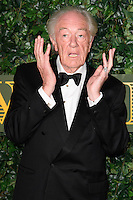 Michael Gambon<br /> at the Evening Standard Theatre Awards 2016, Old Vic Theatre, London.<br /> <br /> <br /> ©Ash Knotek  D3197  13/11/2016