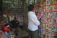 Small DVD movie shop in Colombo, DVD's are getting very popular in Sri Lanka