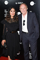 "Salma Hayek and husband Francois-Henri Pinault<br /> at the premiere of ""Beatriz at Dinner"" as part of Sundance London at the Mayfair Hotel, London. <br /> <br /> <br /> ©Ash Knotek  D3271  01/06/2017"
