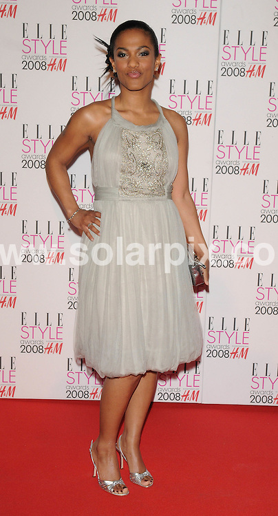 **ALL ROUND PICTURES FROM SOLARPIX.COM**.**WORLDWIDE SYNDICATION RIGHTS**.Celebrities arrive for the Elle Style Awards at The Roundhouse, London. 12th February 2008..This pic: Freema Agyeman..JOB REF: 5777 ATM     DATE: 12_02_2008.**MUST CREDIT SOLARPIX.COM OR DOUBLE FEE WILL BE CHARGED* *UNDER NO CIRCUMSTANCES IS THIS IMAGE TO BE REPRODUCED FOR ANY ONLINE EDITION WITHOUT PRIOR PERMISSION*