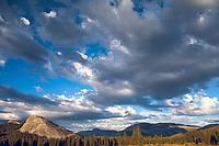 Evening Light and Clouds, Lembert Dome, Yosemite