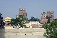 , ndien, Madurai (Tamil Nadu), Sri Meenakshi Tempel