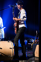 Mehdi Hamdad perform at <br /> the  Festival en Chanson of Petite-Vallee in Gaspesia on July nd , 2014.<br /> <br /> Photo : Agence Quebec Presse  - Frederic Seguin