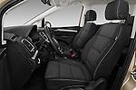 Front seat view of 2016 Volkswagen Sharan Confortline 5 Door Minivan Front Seat car photos