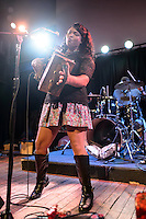 Rosie Ledet & the Zydeco Playboys in concert at Old Rock House in St. Louis, MO on Oct 24, 2012.