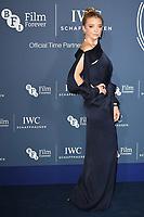 Natalie Dormer<br /> arriving for the 2018 IWC Schaffhausen Gala Dinner in Honour of the BFI at the Electric Light Station, London<br /> <br /> ©Ash Knotek  D3437  09/10/2018