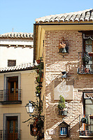 Streetscape of Toledo, Spain