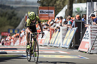 Annemiek Van Vleuten (NED/Mitchelton Scott) finishing 4th place.<br /> <br /> 21st La Flèche Wallonne Femmes <br /> 1 day race: Huy - Huy (118,5KM)