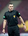 Motherwell v St Johnstone…..30.11.19   Fir Park   SPFL<br />Referee Euan Anderson<br />Picture by Graeme Hart.<br />Copyright Perthshire Picture Agency<br />Tel: 01738 623350  Mobile: 07990 594431