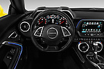 Car pictures of steering wheel view of a 2018 Chevrolet CAMARO 2LT 2 Door coupe Steering Wheel