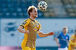 20.02.2021, xtgx, Fussball 3. Liga, FC Hansa Rostock - SV Waldhof Mannheim, v.l. Marcel Seegert (Mannheim, 5) Kopfball<br /> <br /> (DFL/DFB REGULATIONS PROHIBIT ANY USE OF PHOTOGRAPHS as IMAGE SEQUENCES and/or QUASI-VIDEO)<br /> <br /> Foto © PIX-Sportfotos *** Foto ist honorarpflichtig! *** Auf Anfrage in hoeherer Qualitaet/Aufloesung. Belegexemplar erbeten. Veroeffentlichung ausschliesslich fuer journalistisch-publizistische Zwecke. For editorial use only.