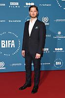 Kyle Soller<br /> arriving for the British Independent Film Awards 2018 at Old Billingsgate, London<br /> <br /> ©Ash Knotek  D3463  02/12/2018
