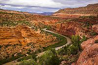 San Miguel River Red Canyon Colorado