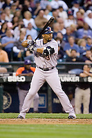 July 5, 2008: The Detroit Tigers' Gary Sheffield at-bat during a game against the Seattle Mariners at Safeco Field in Seattle, Washington.