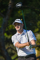 6th June 2021; Dublin, Ohio, USA;  Russell Knox (IRL) watches his tee shot on 2 during the Memorial Tournament final round at Muirfield Village Golf Club