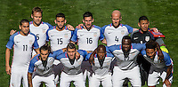 San Diego, CA - January 28, 2017: The U.S. Men's National team and Serbia play to a 0-0 draw in an international friendly game at Qualcomm stadium.