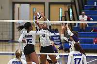 Image from Fayetteville's match against Rogers' Tuesday Sept. 8, 2020 at King Arena in Rogers. Visit nwaonline.com/2000908Daily/ for a photo gallery. (NWA Democrat-Gazette/J.T.WAMPLER)
