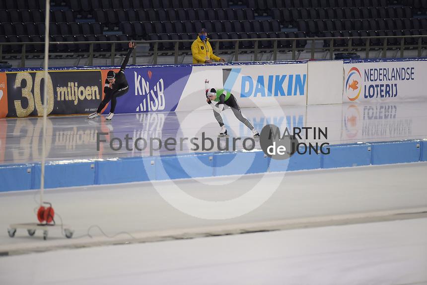 SCHAATSEN: HEERENVEEN: 27-12-2020, IJsstadion Thialf, WK Kwalificatie, ©foto Martin de Jong