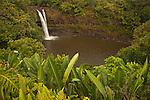 Rainbow Falls near Hilo, Hawai'i, USA