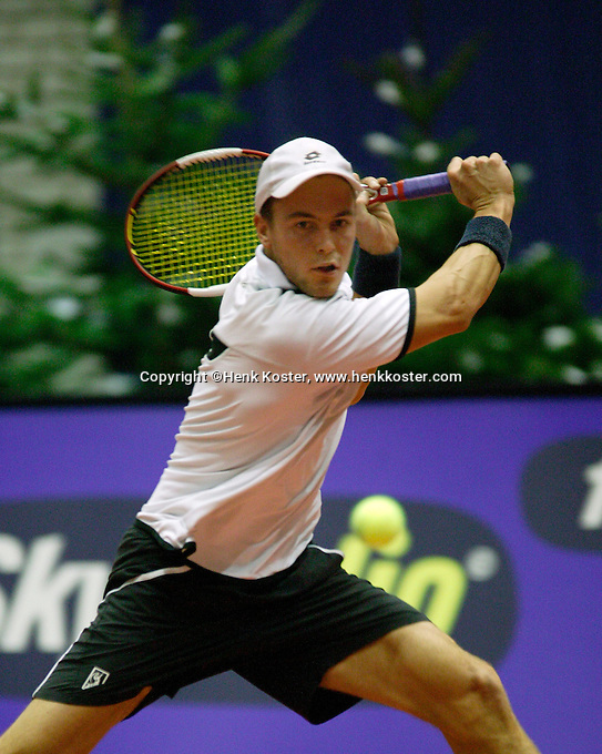 13-12-06,Rotterdam, Tennis Masters 2006,   Boy Westerhof
