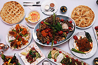 Turkish Kitchen restaurant, Swansea, Wales, UK. 13 July 2017