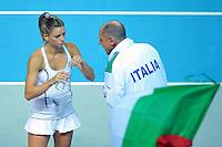 20160206 Tennis Francia Italia Federation Cup