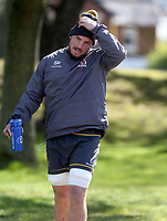 Tuesday 3rd May; Sean Reidy<br /> Ulster Rugby Training at Perrie Park, Belfast, Northern Ireland. Photo by John Dickson/Dicksondigital