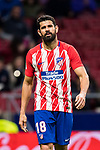 Diego Costa of Atletico de Madrid reacts during the La Liga 2017-18 match between Atletico de Madrid and CD Leganes at Wanda Metropolitano on February 28 2018 in Madrid, Spain. Photo by Diego Souto / Power Sport Images